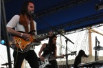 Zaza opens at the Pains of Being Pure at Heart's South Street Seaport show in New York City
