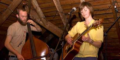 O, Morning Records' Sarah Aument plays a house show in Syracuse