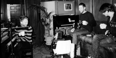 Radiohead in the studio