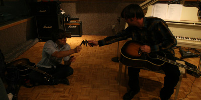 Ben Gibbard and Jay Farrar Soundtrack Documentary One Fast Move or I'm Gone: Kerouac's Big Sur.