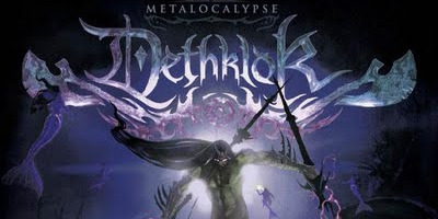 Fictitious metal band Dethklok releases its second album on Tuesday