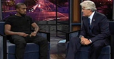 Kanye talks to Jay Leno the day after the 2009 MTV Video Music Awards