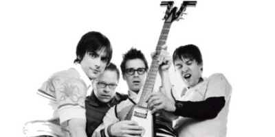 Weezer just finished a collaboration with All American Rejects for upcoming album Raditude